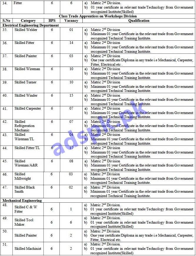 998 Jobs Pakistan Railways Phase-V (PR-HQOL) Jobs 2018 PTS