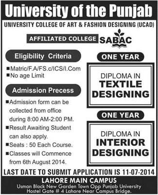 Diploma In Fashion Designing In Islamabad