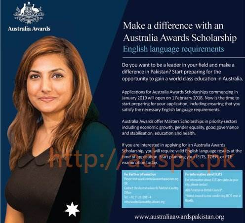 Australia Awards Scholarships 2019 [UPDATED]