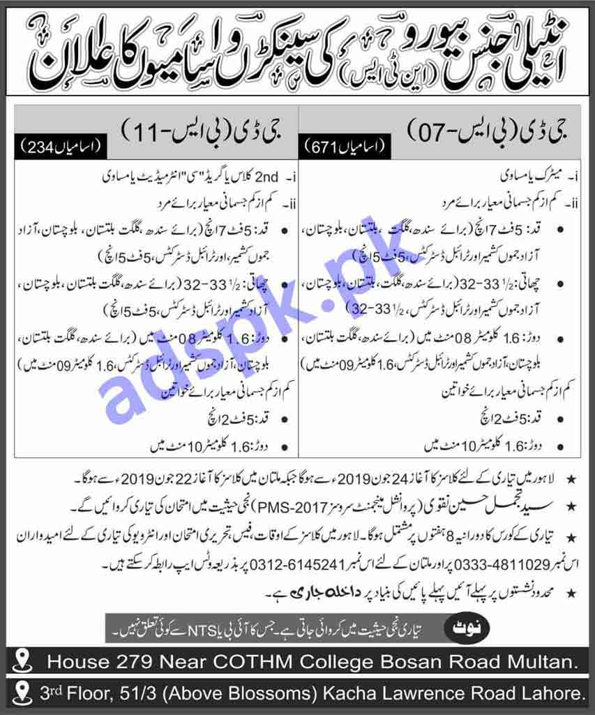 1660 Jobs Federal Government Organization FGO Jobs 2019 NTS Written