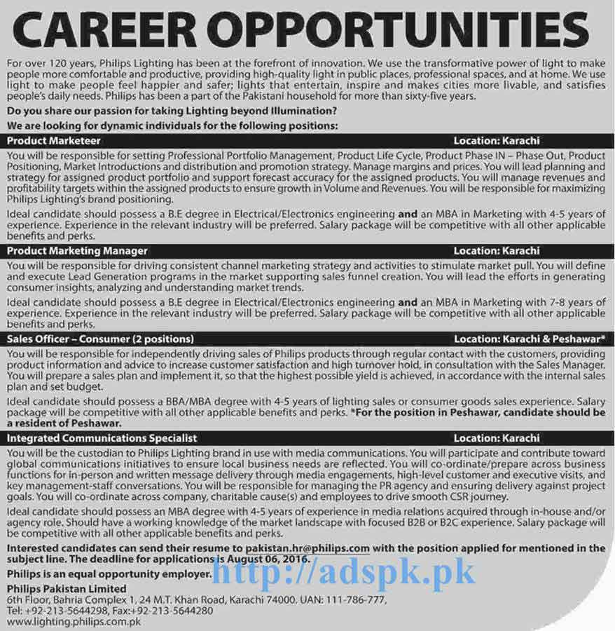 new excellent jobs philips limited karachi jobs for new excellent jobs philips limited karachi jobs for product marketer s officer marketing manager applications