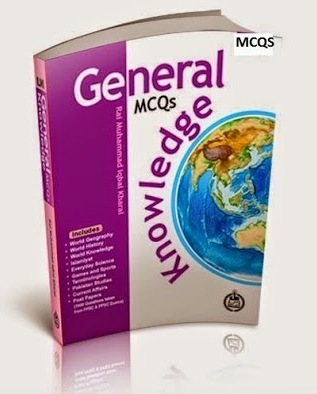 Caravan's General Knowledge MCQs Papers Solved Best PDF Book Download Free for PPSC FPSC NTS PTS OTS Jobs and Competitive Examinations Test Preparation