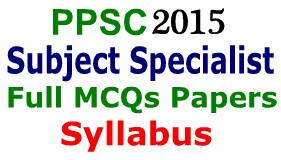 PPSC Jobs Lecturers 2015