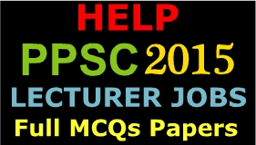 PPSC Lecturer Jobs 2015 Apply Online Now