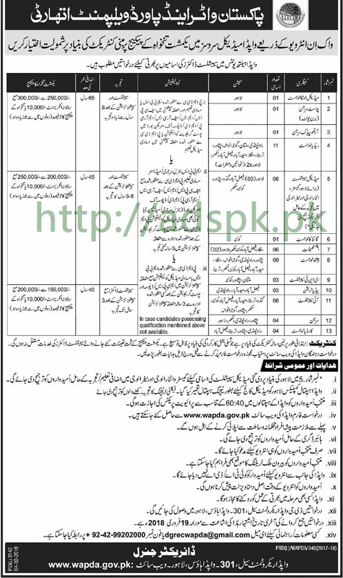 Knitting Units In Lahore : Wapda health units house lahore jobs specialist